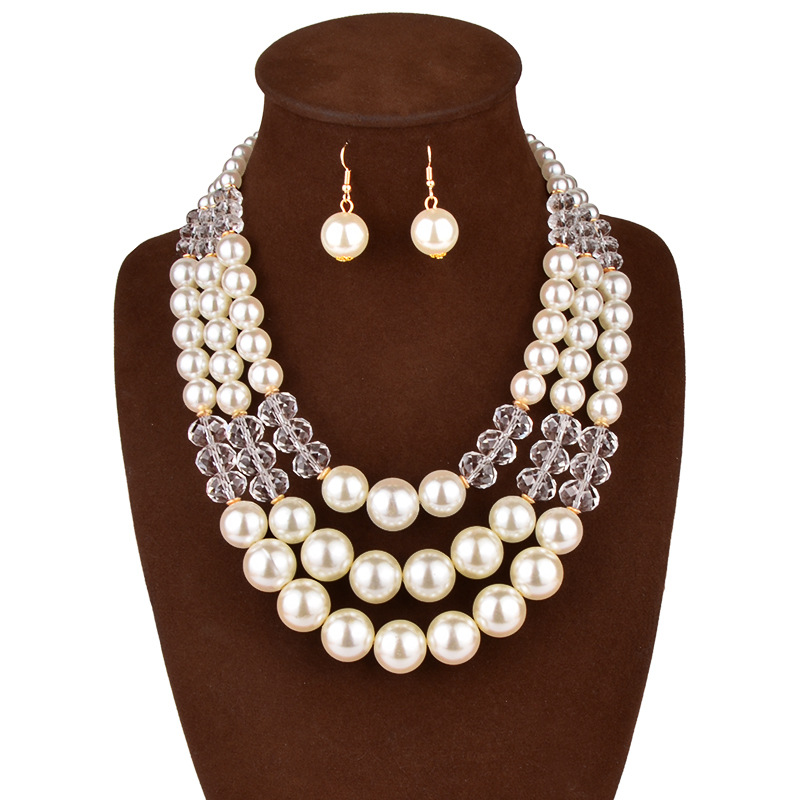 Cheap Wedding Jewelry: Popular Cheap Pearl Bridal Jewelry Sets-Buy Cheap Cheap