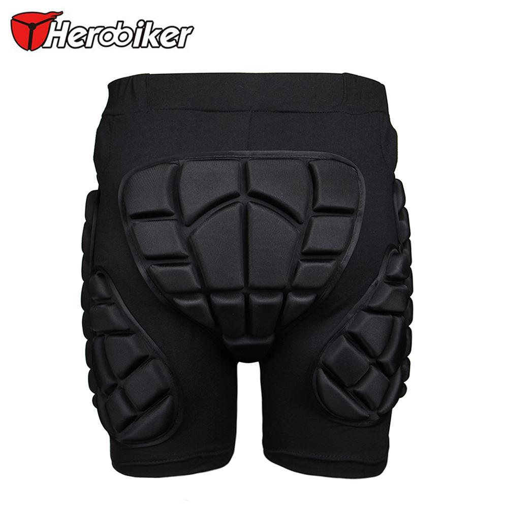 HEROBIKER Motorcycle Motorcross Off-Road MTB Ski Snowboard Skating Hip Pad Padded Shorts Extreme Sport Armor Protective Gear(China (Mainland))