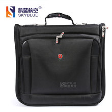New arrival Pilot's Suitcase Tote Garment  laptop Bag Men Women Black Multi Function Uniform Business Travel High Quality(China (Mainland))