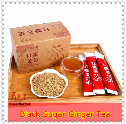Free Shipping Women Must Black Sugar Ginger Tea Instant Coffee Instant Ginger Tea China s Coffee