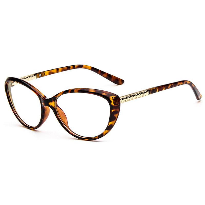 2015 Brand New Cat Eye Glasses Frame Women Anti Radiation Glasses Computer Glasses Optical Frame Eyeglasses