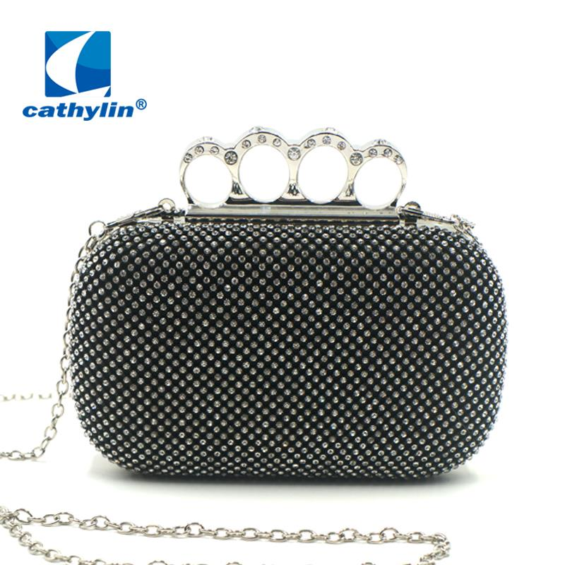 Awesome  Santi SQ Clutch Women Synthetic Black Evening Bag Clutches Amp Evening