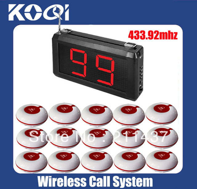 99 Zones LED Display Wireless Nurse Call Equipment Emergency Service System A1-99S w 15pcs Nurse call Free shipping free by DHL
