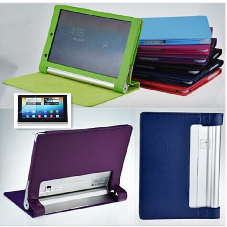 Lenovo Yoga Tablet PC cases Stand Folio PU Leather capa para Case Cover B8000,screen protector gift - Shenzhen LIBBY Electronic Co., Ltd store