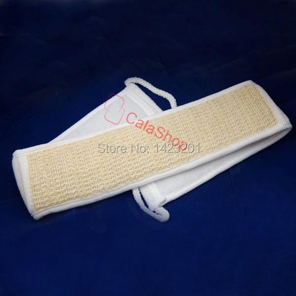 Spa Sponge Loofah Sisal Back Strap Bath Loofa Soft Natural Back-Strap Exfoliato(China (Mainland))