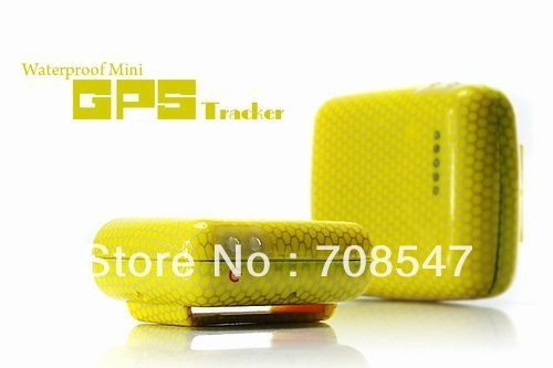 Free shipping DHL 10pcs/lot Waterproof Mini GPS Tracker with SOS Button, SMS Alerts, mini gps tracker Wholesale