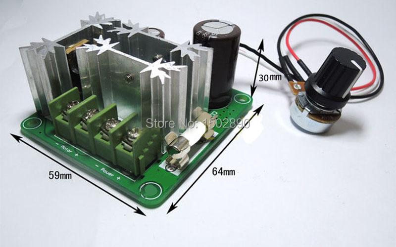 Dc 6v 90v 15a Pulse Width Modulation Pwm Motor Regulator