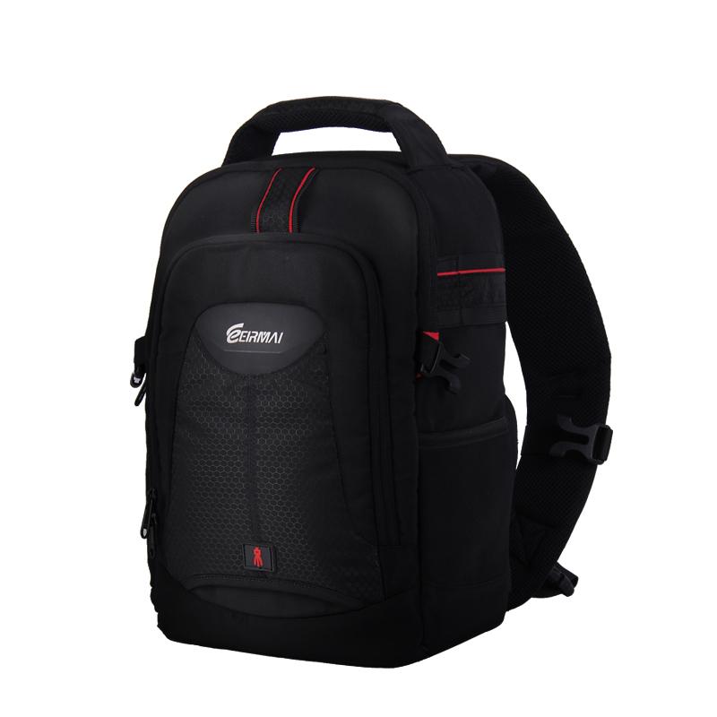 Eirmai SLR camera bag Shoulder Messenger camera bag for Canon SLR backpack 60D70D for Nikon D750 D810(China (Mainland))