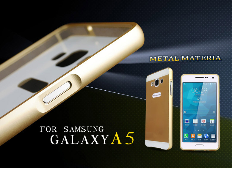 5 DHL FREE Luxury Aluminum Metal Protector case cover Samsung Galaxy A5 A500F A500M A500G A5000 - Shenzhen Kobee Plastic Rubber Product Limited store