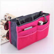 HOT Sale ! 11 Colors Make up organizer bag Women Men Casual travel bag multi functional Cosmetic Bag storage bag in Handbag X01