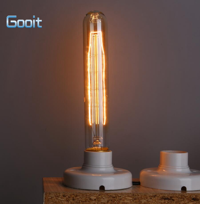 Incandescent Vintage T185 Bulb 40W 220V Retro Edison Art Decoration Light Bulb E27 Wholesale Price(China (Mainland))