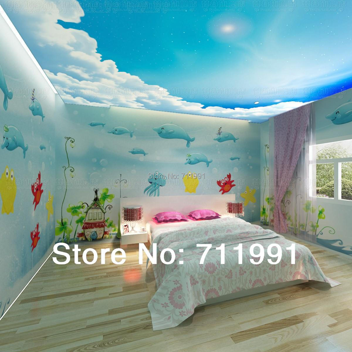 Buy free shipping 3d dolphins underwater for 3d wallpaper for kids bedroom
