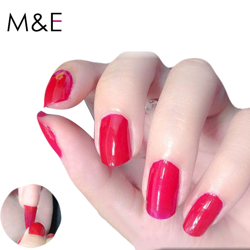 New Fashion Cheap Nail Polishes 2016 Hot Sale Gel Polish Peel Off Nail Polish Pure Tasteless <font><b>Nailpolish</b></font>