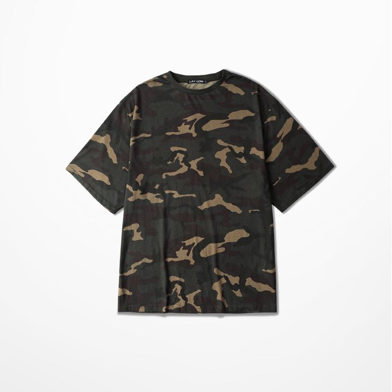 Presale C4 Hip Hop Camo Tee Oversize Men T-Shirt Camouflage T Shirts Kanye West 2016 Women Mens Short Sleeve Streetwear S-3XL(China (Mainland))