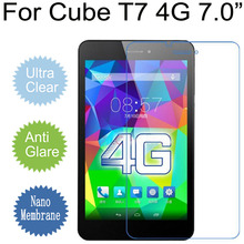 For Cube T7 4G Soft Clear Glossy/Matte/Nano Explosion-proof Film For Cube T7 7.0