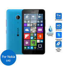 "For Nokia Microsoft Lumia 640 Tempered Glass Screen Protector 0.26mm 2.5 9h Safety Protective Film on phone Dual Sim Lte 5.0""(China (Mainland))"