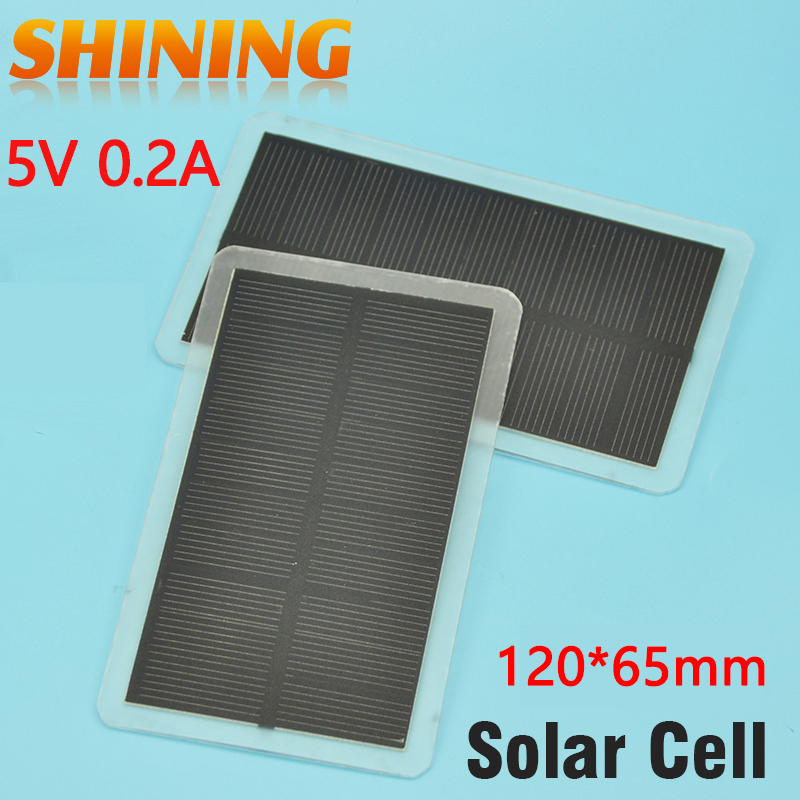 2Pcs/Lot 1W Solar Panel Power Cell Light Weight Small Size For Battery Charging Charger DIY Study Solar Cell Kit Solar Toy Lamp(China (Mainland))