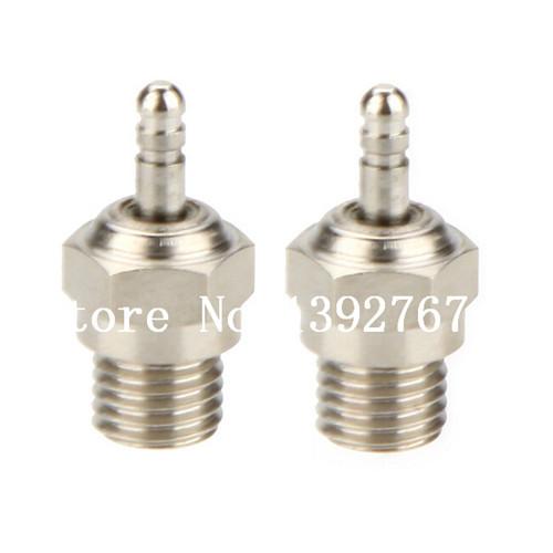 2Pcs N3 Hot Spark Glow Plug #3 SH For Vertex Nitro Engine Parts Traxxas OS HSP 70117 RC Truck Baja <br><br>Aliexpress