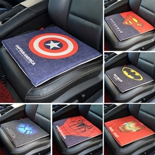 Cushion Cover Cotton Linen Spider man Superman X man Thor Pentium Felicity Cushion Mural Home Decorative Car Decor(China (Mainland))
