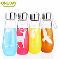 ONEDAY SB60024 480ml Tumbler Coffee Mug Teacup My Water Bottle Glass with Cover Penguin Deer Tumbler