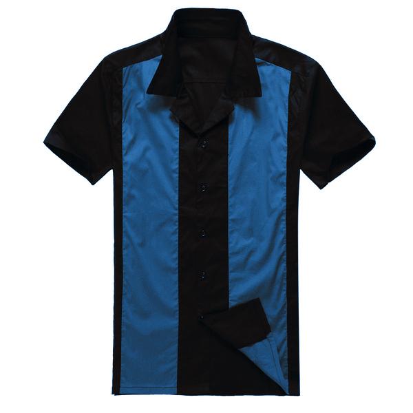 Camisa occidental vintage para hombre