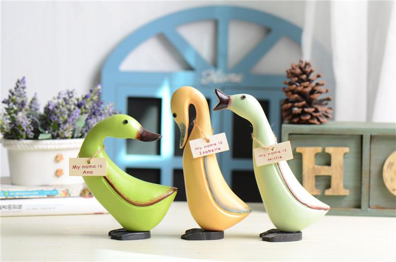 popular decorative wooden ducks buy cheap decorative