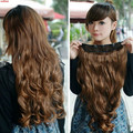 3 pcs lot Women and Girls 5 Clip in Hair Extensions Long Curly Hair Extension