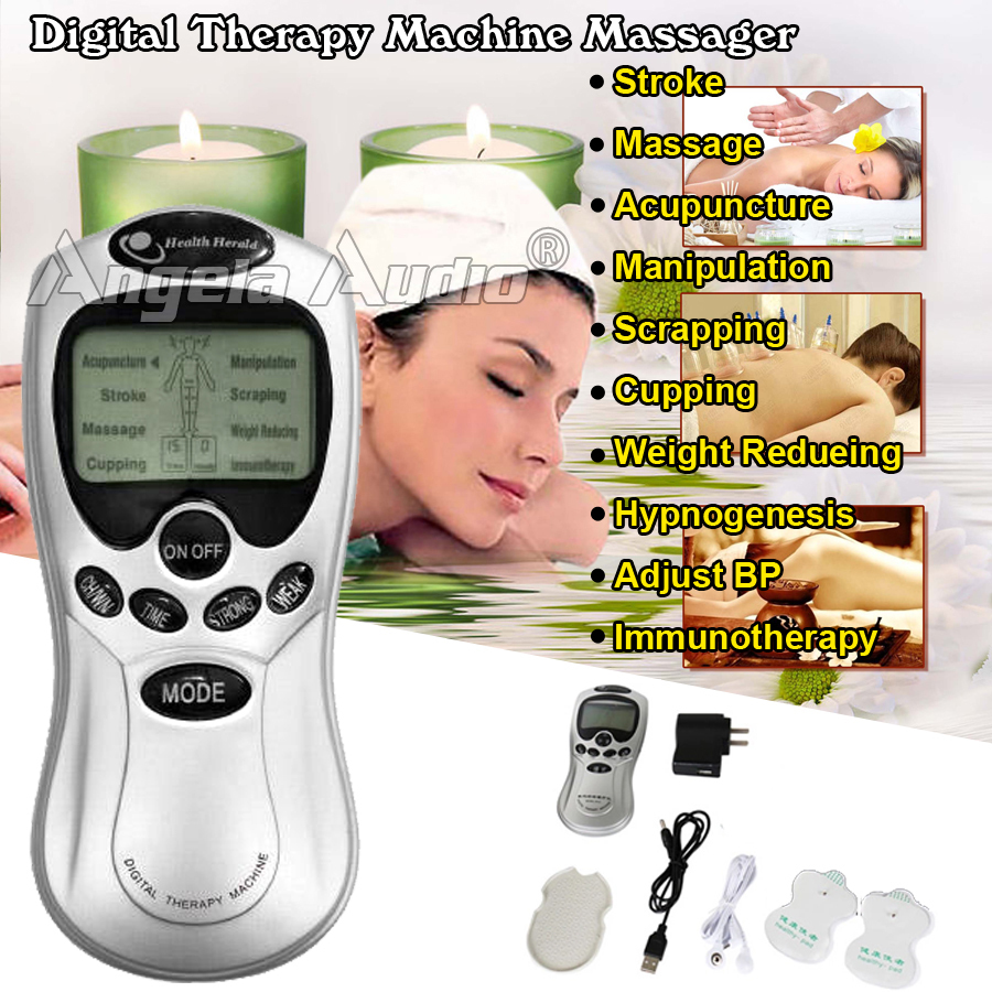 Slimming Massageador Tens Acupuncture Body Massager ...
