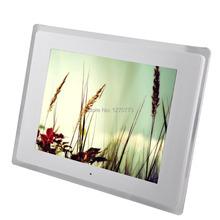 Cornice digitale ad alta definizione 1024 (rgb) * 768 12 pollice media frame led schermo multi-lingua cornice digitale gratuita a partire da us(China (Mainland))