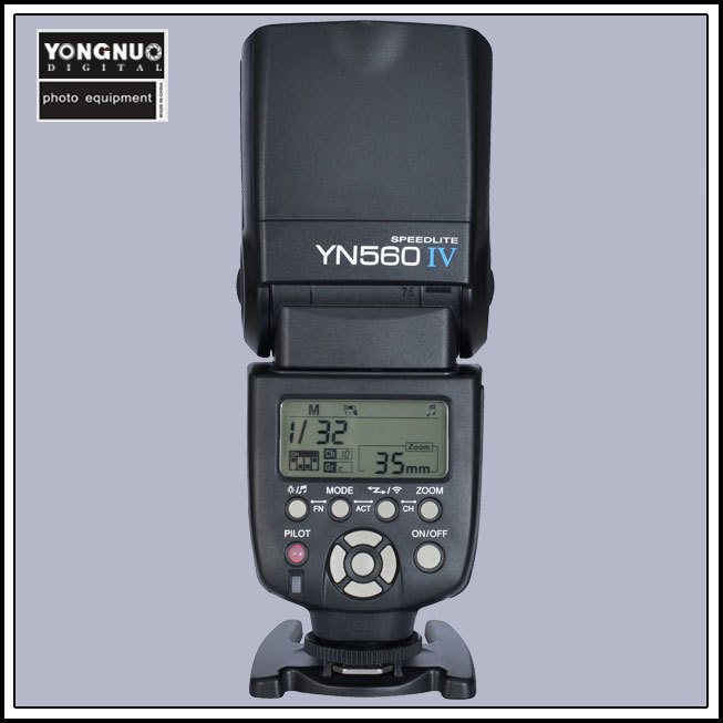 Yongnuo YN-560 IV YN560 IV Master Slave Flash Speedlight +Built-in Radio Trigger(China (Mainland))