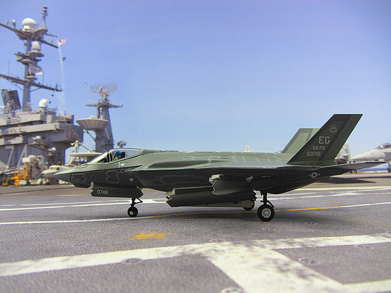 Фотография Airforce F-35A 1:72 US simulation model aircraft model aircraft fighter military model alloy gifts customized postage