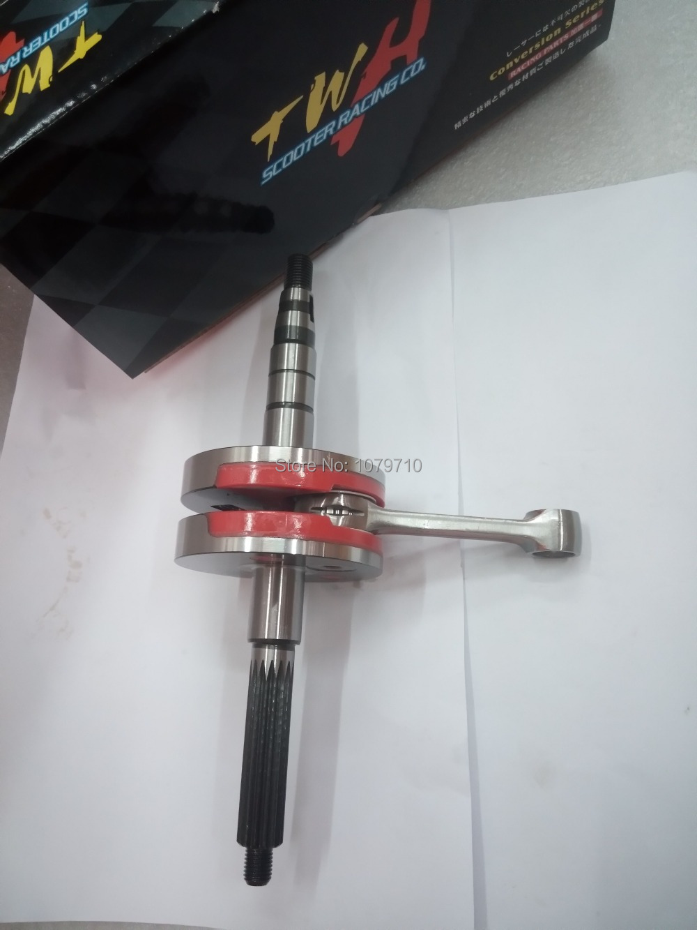 Crankshaft for YAMAHA JOG 90cc 45MM +(3.0). High Performance scooter engine accessories crank for Racing 100% Made In Taiwan(China (Mainland))