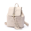 Preppy Style Casual Rucksack 2016 New Fashion Casual Knitting Flap Tassel Large Capacity Travel Bag Women