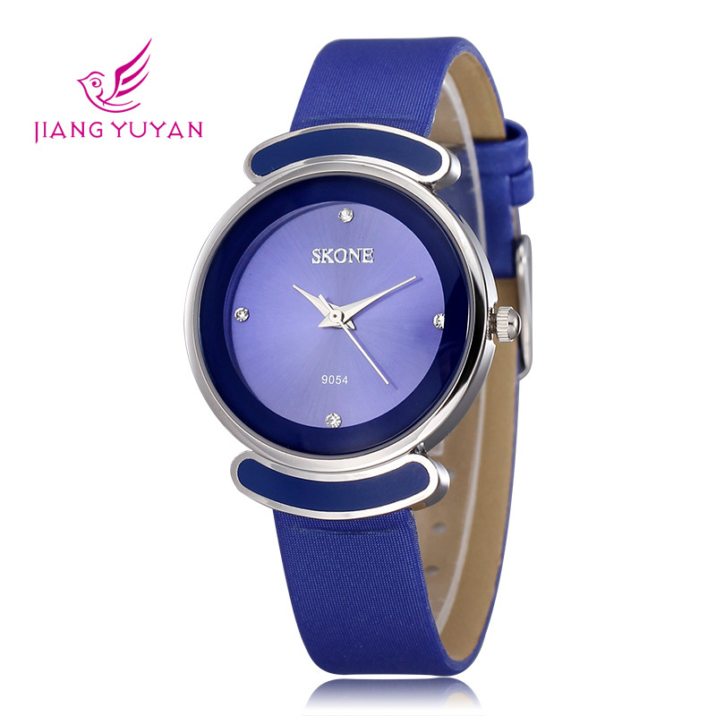 new famaous Fashion TOP Brand Skone Ladies tag whatches Women Casual dress Watch Luxury Leather Strap wrist Watches(China (Mainland))
