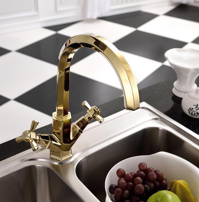 Emejing Wasserhahn Küche Edelstahl Gebürstet Contemporary ...