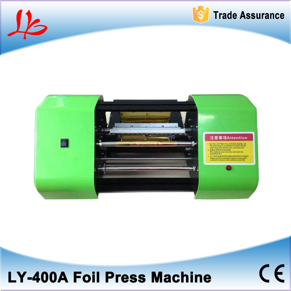 LY 400A foil press machine digital hot foil color business