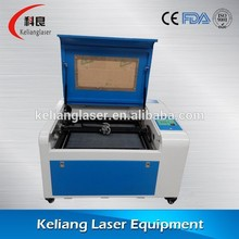KL-4060 50w CO2 laser engraving machine for paper bags, leather, jeans, etc.(China (Mainland))