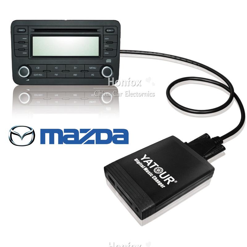 Yatour Mazda 3 5 6 cx-7 rx 8 2009-2012 Car MP3 interface USB SD MP3 YT-M06 SD AUX adapter interface  Digital music changer<br><br>Aliexpress