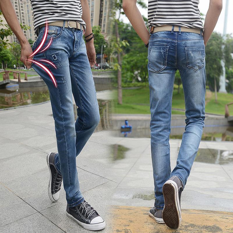 2015 Hot Mens Designer Jeans Famous Brand Perfume 212 Men slim fit jeans True Religious Men Robin Jeans Denim Skinny erkek jean(China (Mainland))