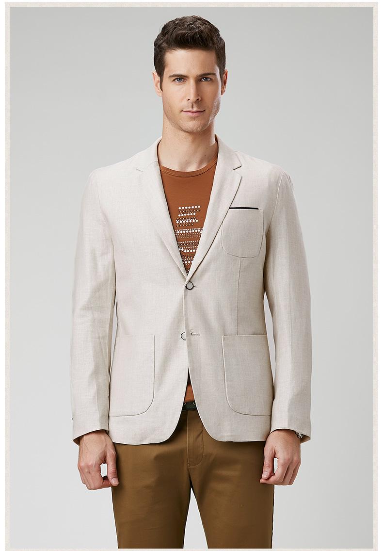 Popular Mens Casual Linen Blazers-Buy Cheap Mens Casual Linen ...