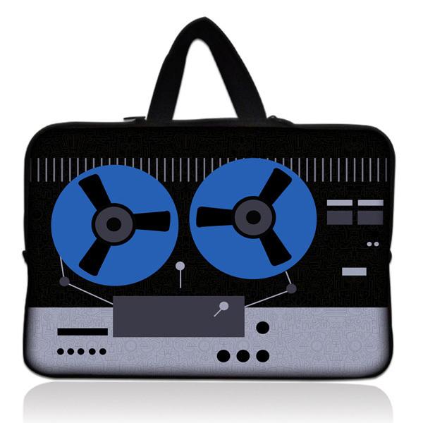 "Cassette 10"" Tiger Laptop Tablet PC Carry Sleeve Bag Case For Apple1 2 3 4 w/Cover"
