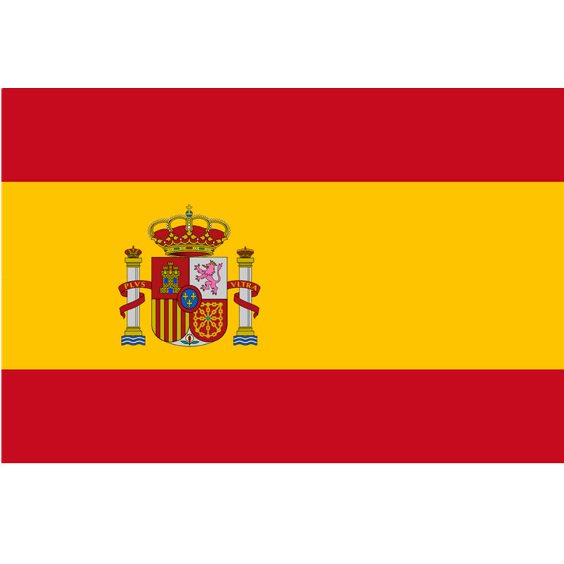 Spain Flag Nation 3ft x 5ft Polyester Banner Flying150* 90cm Custom flag All over the world Worldwide outdoor(China (Mainland))