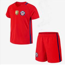 Copa America 2016 Chile Home Kit shirts Chile futebol VIDAL soccer jersey SANCHEZ VALDIVIA MEDEL(China (Mainland))