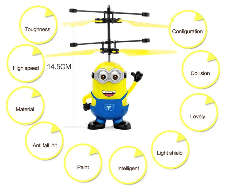 Action figure RC helicopter kids toys quadcopter Children's gifts Drones outdoor toys juguetes