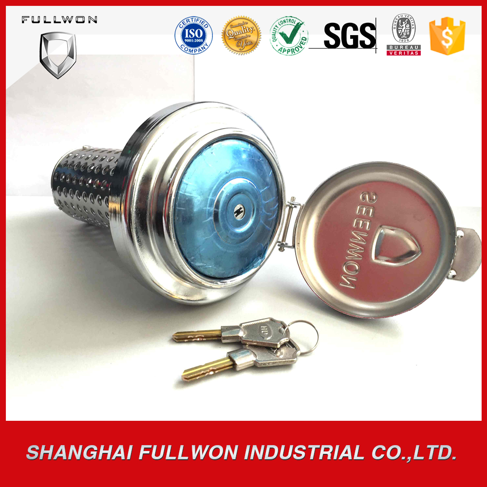 Seenwon Anti theft anti siphon fuel tank cap with lock for howo and other China truck with OD 110MM(China (Mainland))