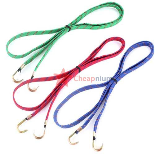 CheapNium Super Bicycle Elastic Flat Stretch Luggage Cord Strap Rope(China (Mainland))