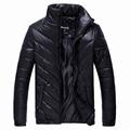 2016 New Men s Winter Jacket Casual Warm Coat Male Stand Collar Parkas Men Cotton Jackets