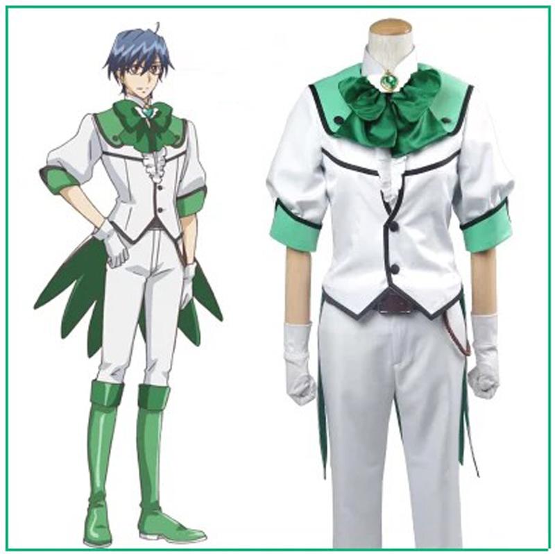 Фотография Binan Koukou Chikyuu Bouei Bu Love! Battle Lover Epinal Cosplay Costume Halloween Costumes for kids anime clothes sport suits