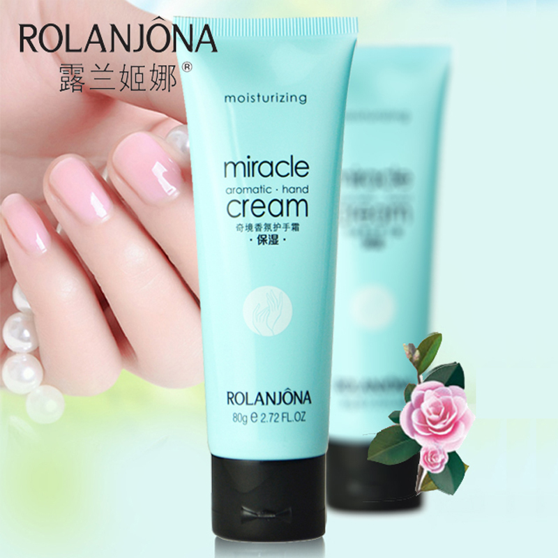 1 piece Moisturizing Aromatic Hand Cream Perfumed hand Lotion Whitening Hands Firming Skin Exfoliate Hand 80g A4007(China (Mainland))