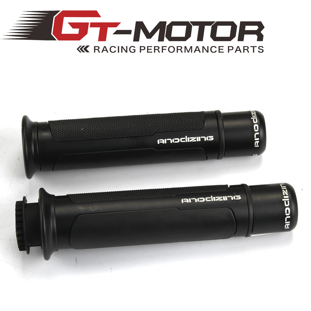 GT Motor - THE HOT ANODIZING 7/8'' Motorcycle Handle CAPS / Handlebar Grips CNC 22MM Street & Racing Moto Racing Grips(China (Mainland))